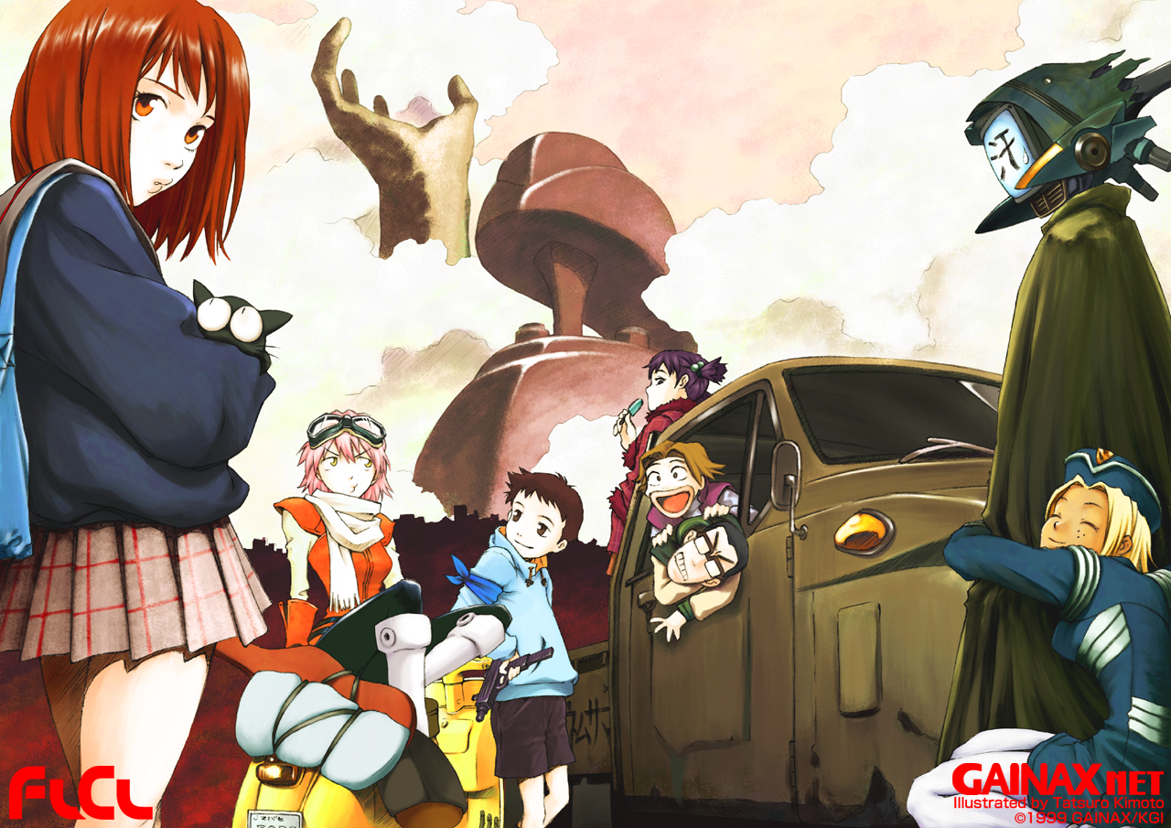 Flcl and revitalizing creativity throwing s t at the - Flcl wallpaper ...
