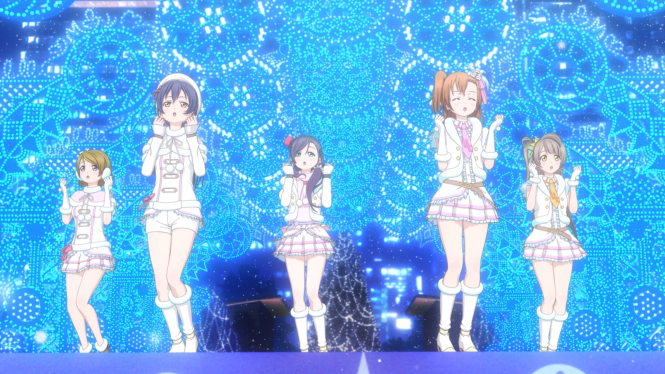 Love Live! School Idol Movie Picture 3 - Snow Halation CG