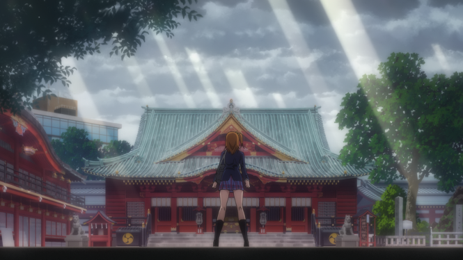 Love Live! School Idol Movie Picture 5 - God Honoka says Let there be no rain... and so it was