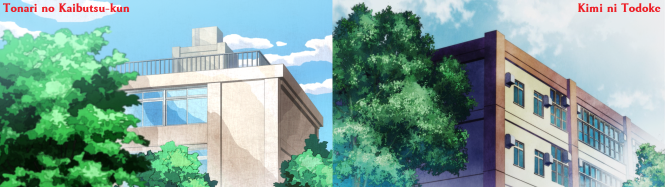 Tonari no Kaibutsu-kun - Comparison with Kimi ni Todoke