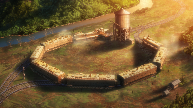 Koutetsujou no Kabaneri - The Iron Fortress from Afar