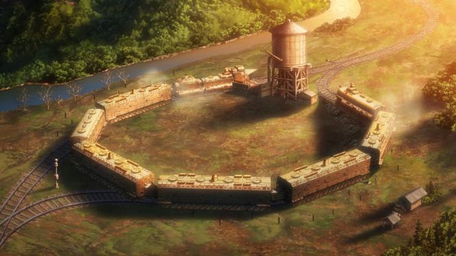 Koutetsujou no Kabaneri - The Iron Fortress from Afar