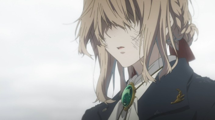 anime, review, violet evergarden, character